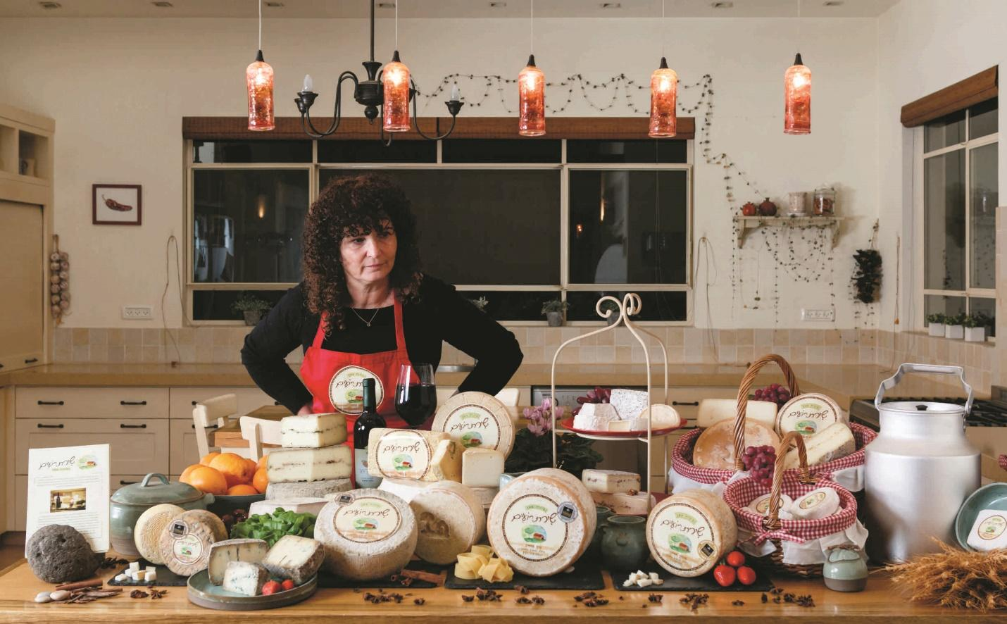 Artisanal cheese is produced at Shirat Roim Dairy, a member of WGN  (Courtesy: JNF-USA)