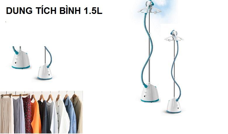 Bàn ủi hơi nước cầm tay dạng đứng Tefal IT2460E0 | Dung tích 1.5l
