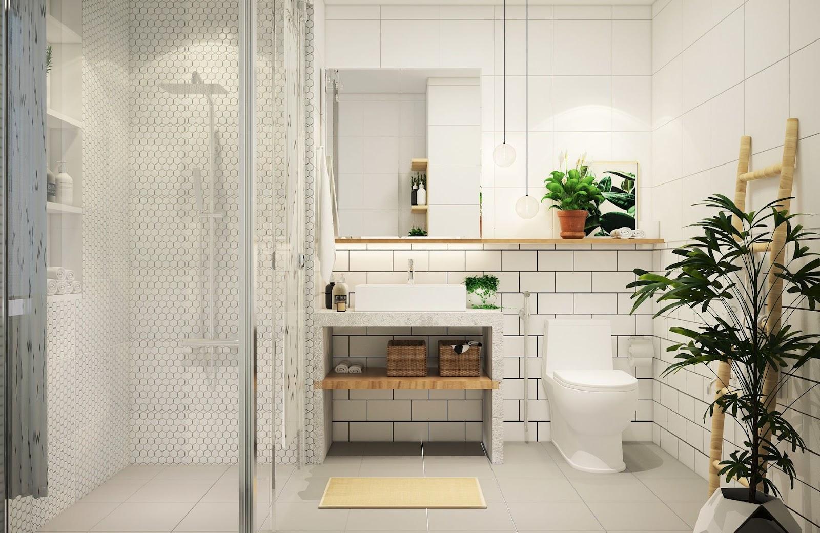 Màu sắc nội thất và kích thước hài hòa trong tổng thể căn phòng