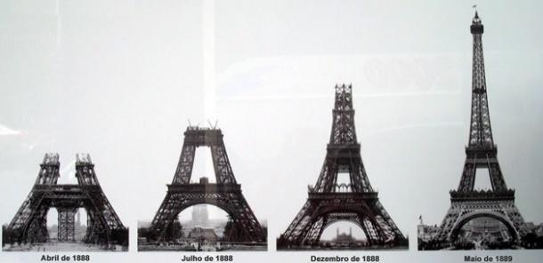 Resultado de imagem para torre eiffel 1889