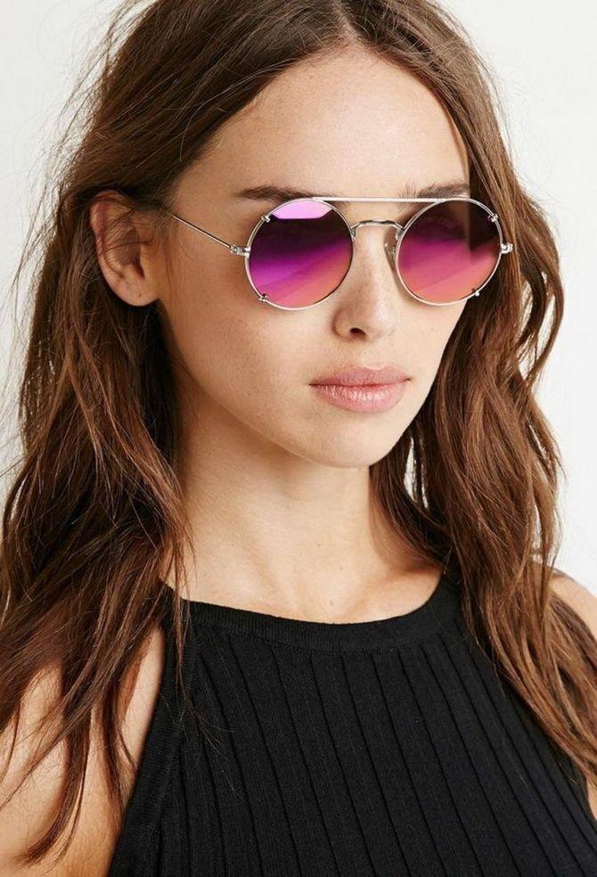 Form der Sonnenbrille