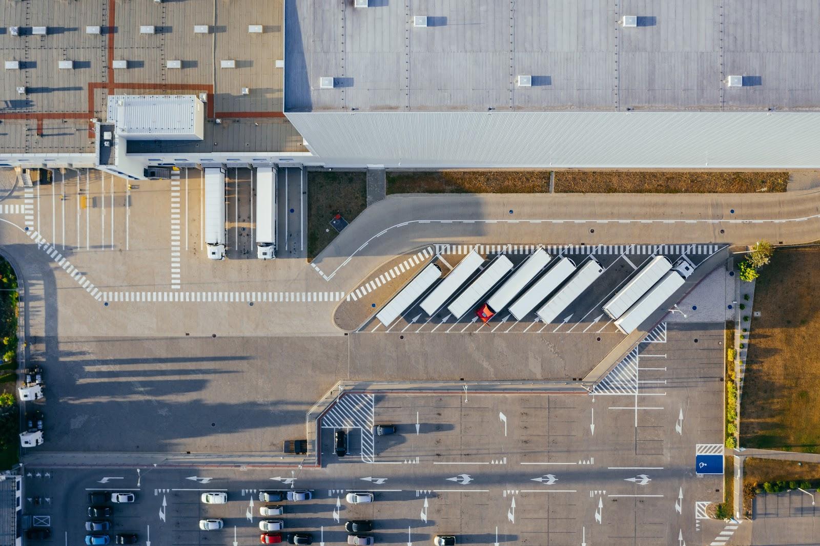 warehouse trucks lean manufacturing