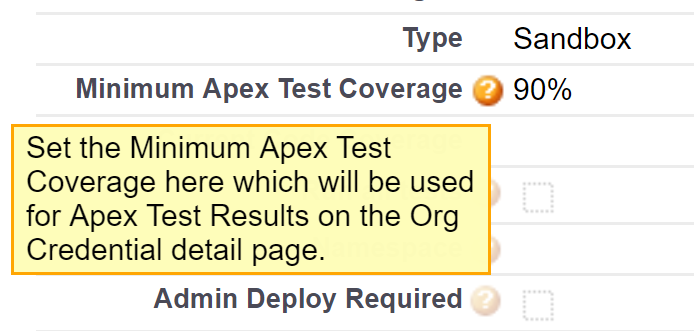 How does the Apex Code Coverage works in User Stories? - Copado