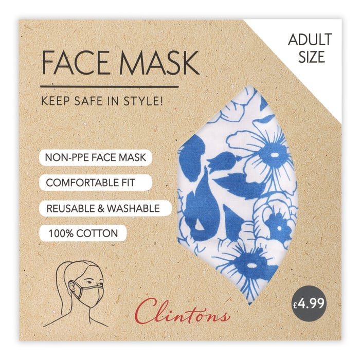 Thoughtful Gifts for Frontline Heroes; Clintons Non-PPR Face Mask