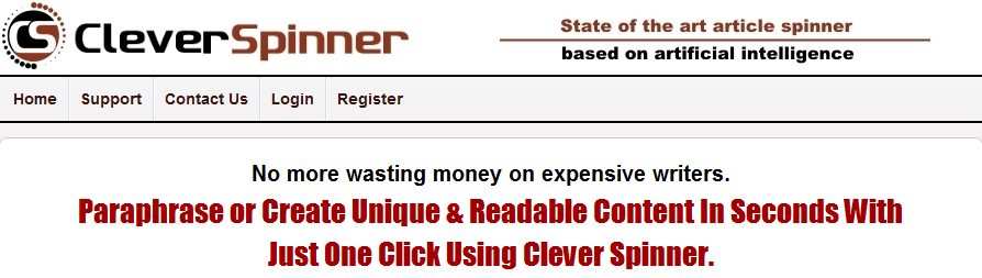 CleverSpinner - Article Spinner Tool