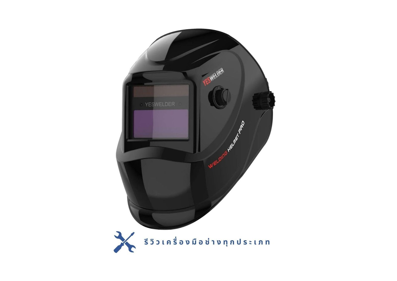 9. YESWELDER Auto-Darkening Welder's Helmet