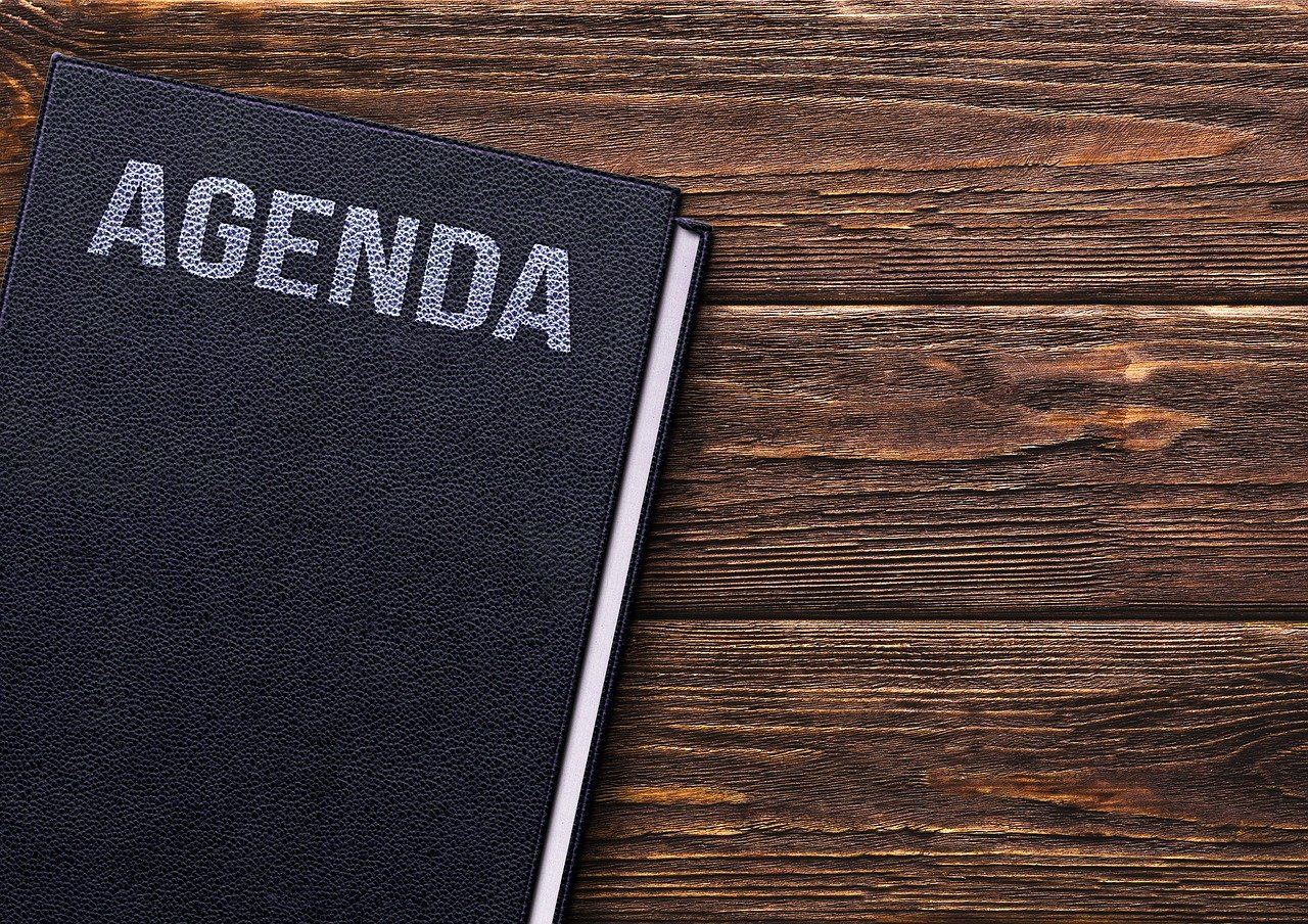 Set a Clear Agenda