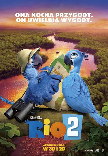 Polski plakat filmu 'Rio 2'