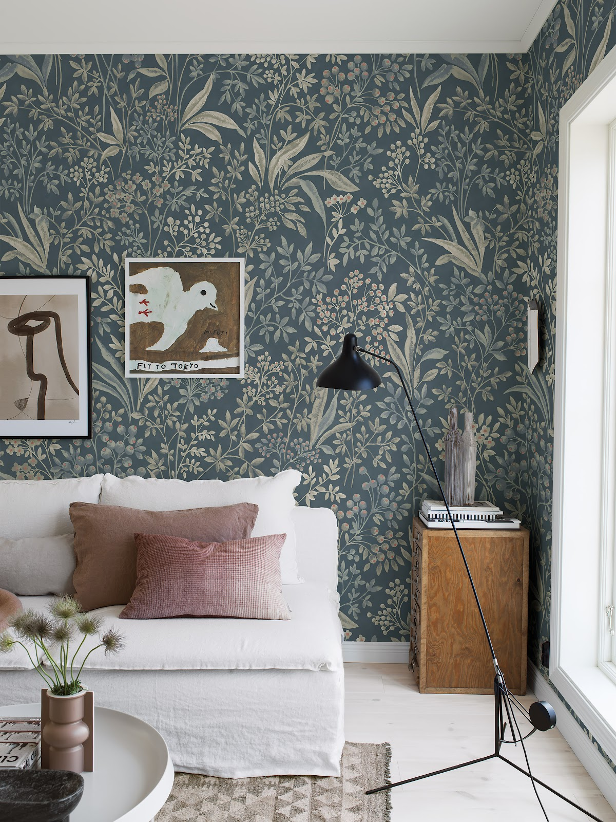 Bold wallpapers as a statement