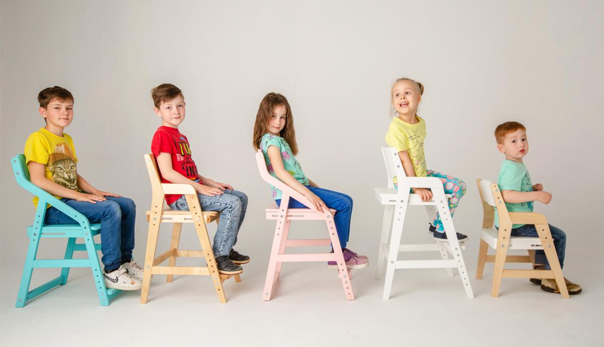 Растущие стулья для детей