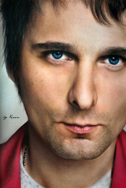 Matthew James Bellamy, singer of the band Muse