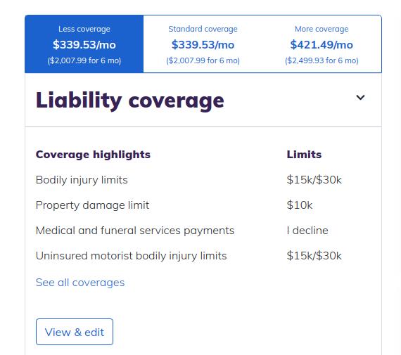 eSurance Tesla Model 3 Insurance Quote