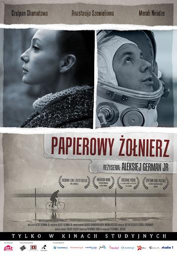 Polski plakat filmu 'Papierowy Żołnierz'
