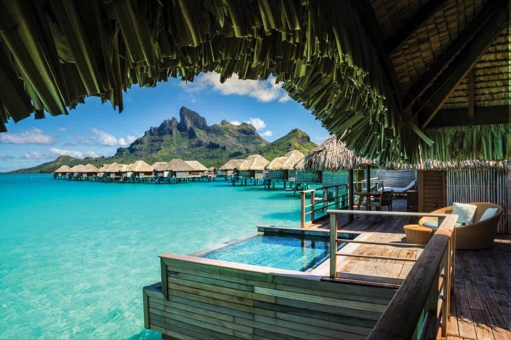 Bora Bora French Polynesia  island