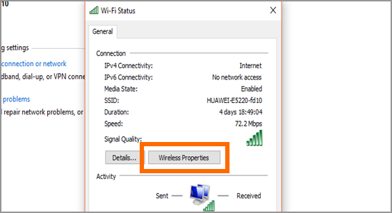 How to find the Wi-Fi password from the laptop or pc