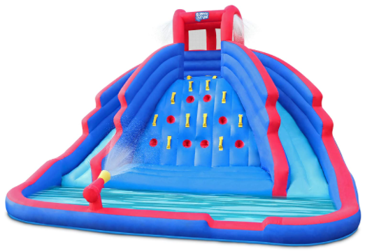 7. Sunny & Fun Deluxe Inflatable Water Slide