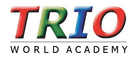 Image result for Trio World academy logo
