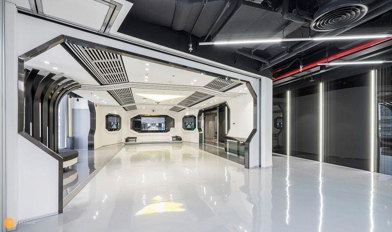 thiết kế không gian văn phòng AXON