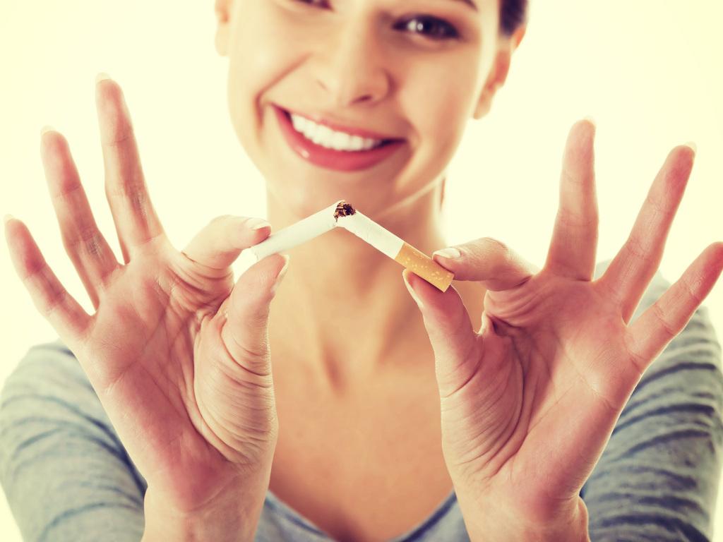 từ bỏ thuốc lá để có làn da tươi trẻ
