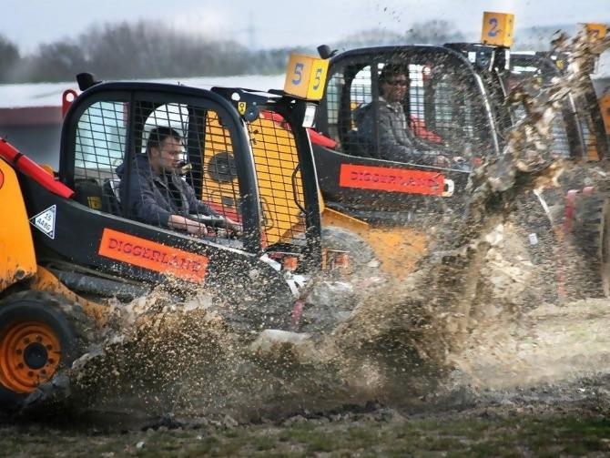 Image result for dumper truck racing
