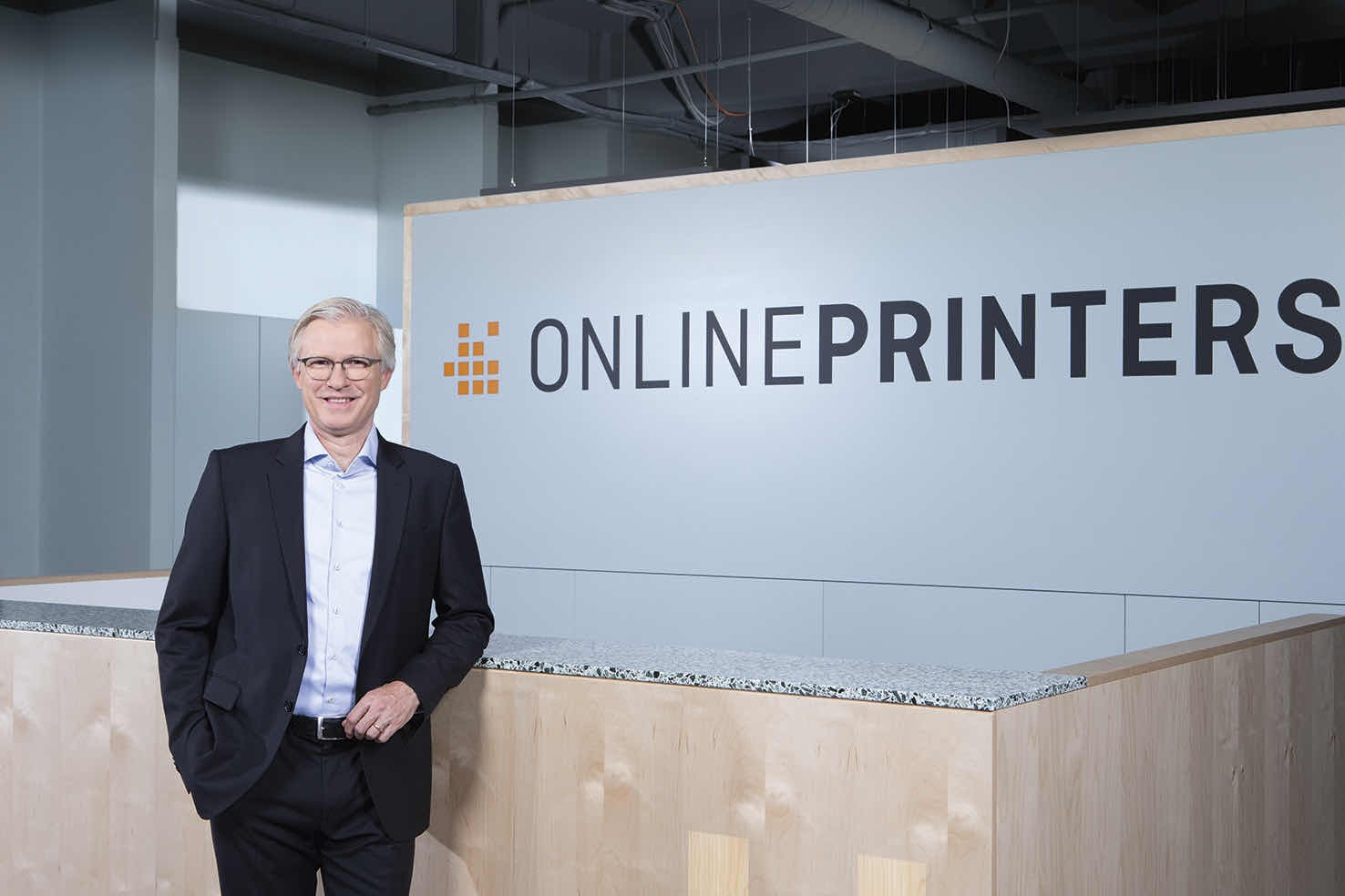 Roland Keppler, CEO of Online printers
