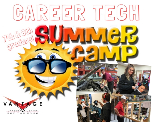 A Summer Career Exploration Adventure for students going into 7th and 8th grade Tuesday, June 4 & Wednesday, June 5  8:30 am - 12:30 pm