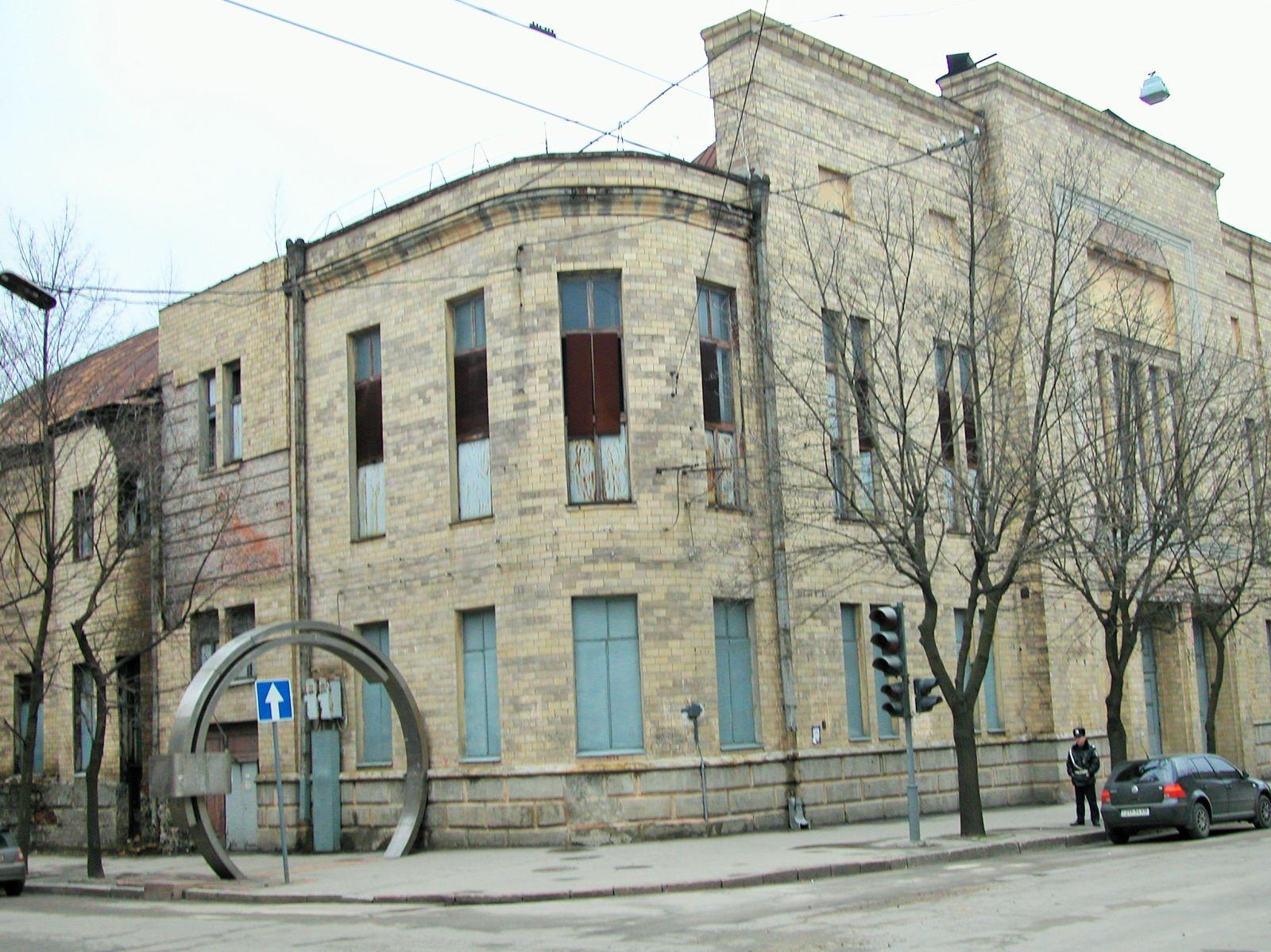 Отут, на розі Дмитрівської і Благовіщенської, у 1923-му відбувалося чекістське збіговисько