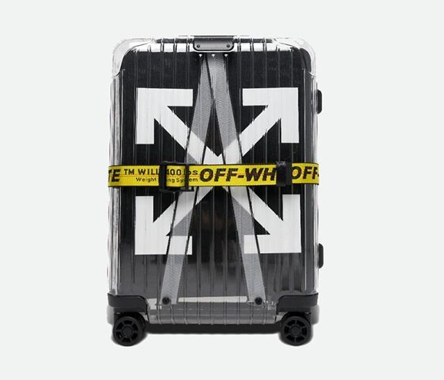 Mẫu vali Rimowa kết hợp cùng thương hiệu thời trang nổi tiếng thế giới Off White.