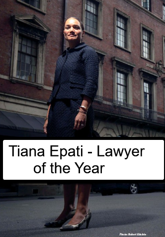 Tiana Epati - Lawyer of the Year & 'The Reluctant President'  Tiana Epati Brings a Fresh Face to the Law Profession 1