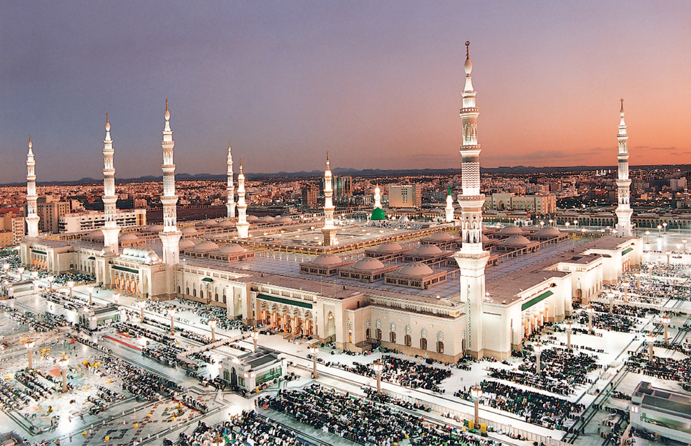 Masjid Nabawi, Prophet's Mosque, Madinah, Saudi Arabia