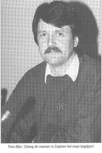 Theo Rijks, het eerste SP-raadslid in Zutphen