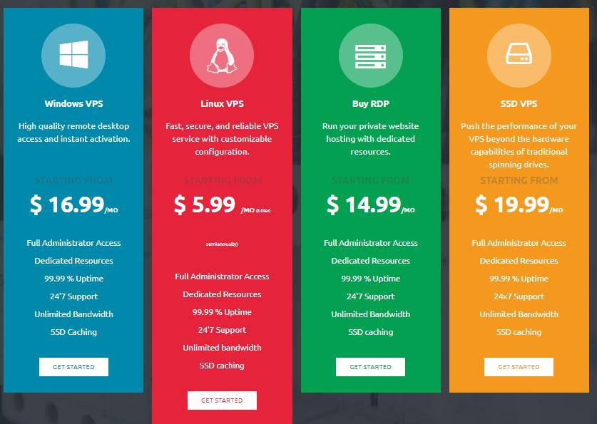 Monovm hosting plans