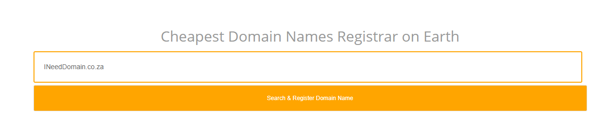 How To Register A Domain In South Africa