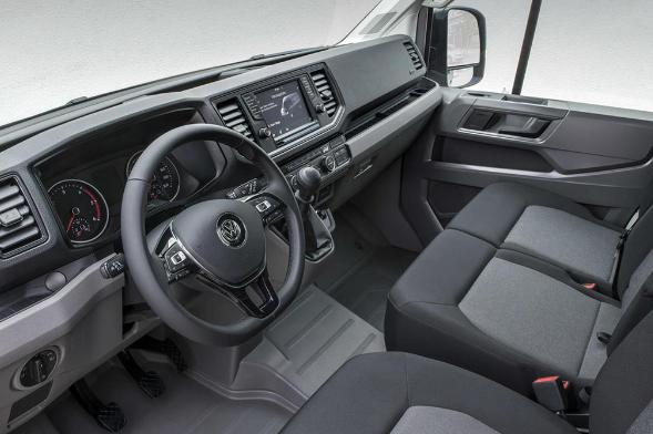 Crafter VW interior