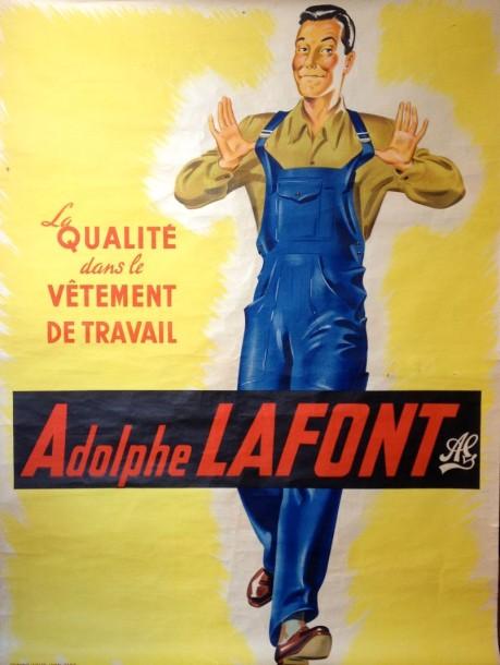 Salopette par Adolphe Lafont