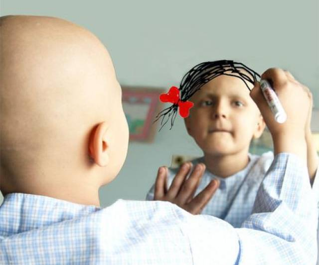 Image result for image of children with cancer