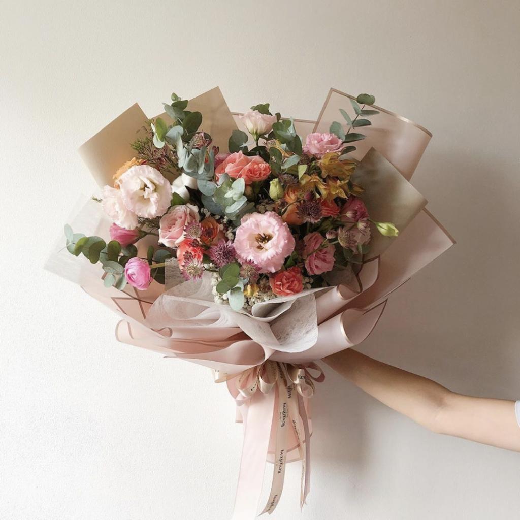 Rosy Posy flower delivery jakarta