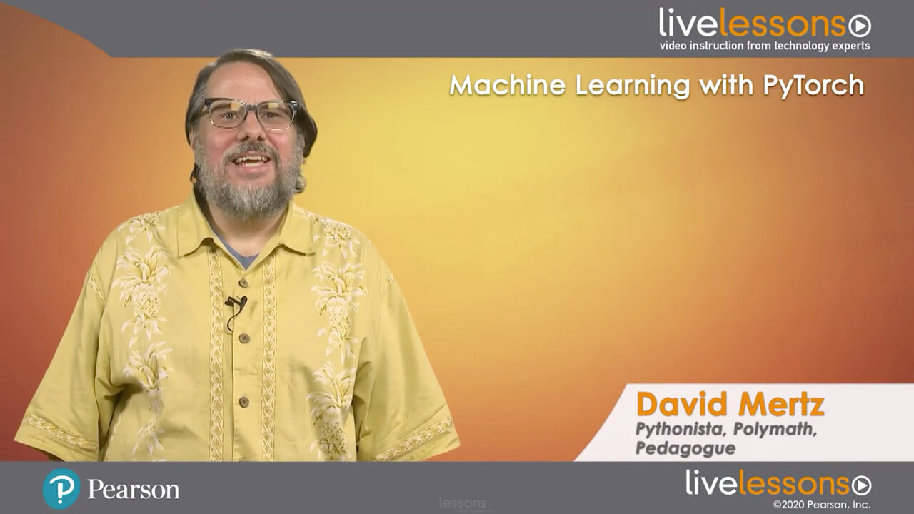 Online Machine Learning with PyTorch LiveLessons (Video Training) course by InformIT