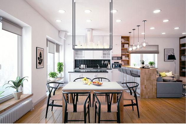 đồ trang trí nội thất phòng bếp nhỏ