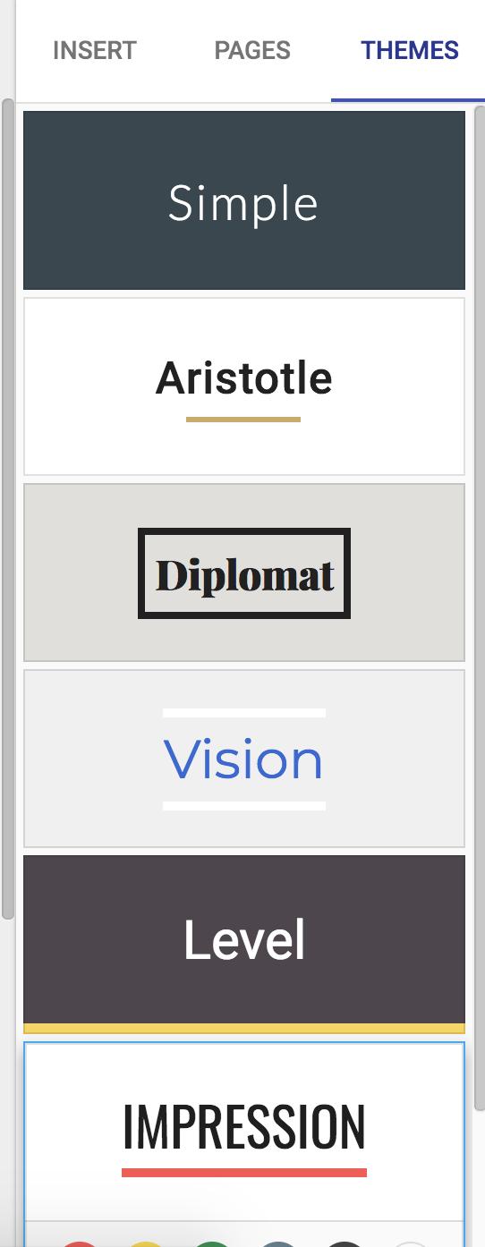 HubSpot Google Sites Themes