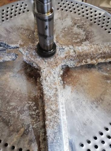 Коррозия стиральной машины из-за плохой воды