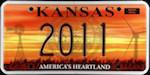 Image of the Kansas state license.
