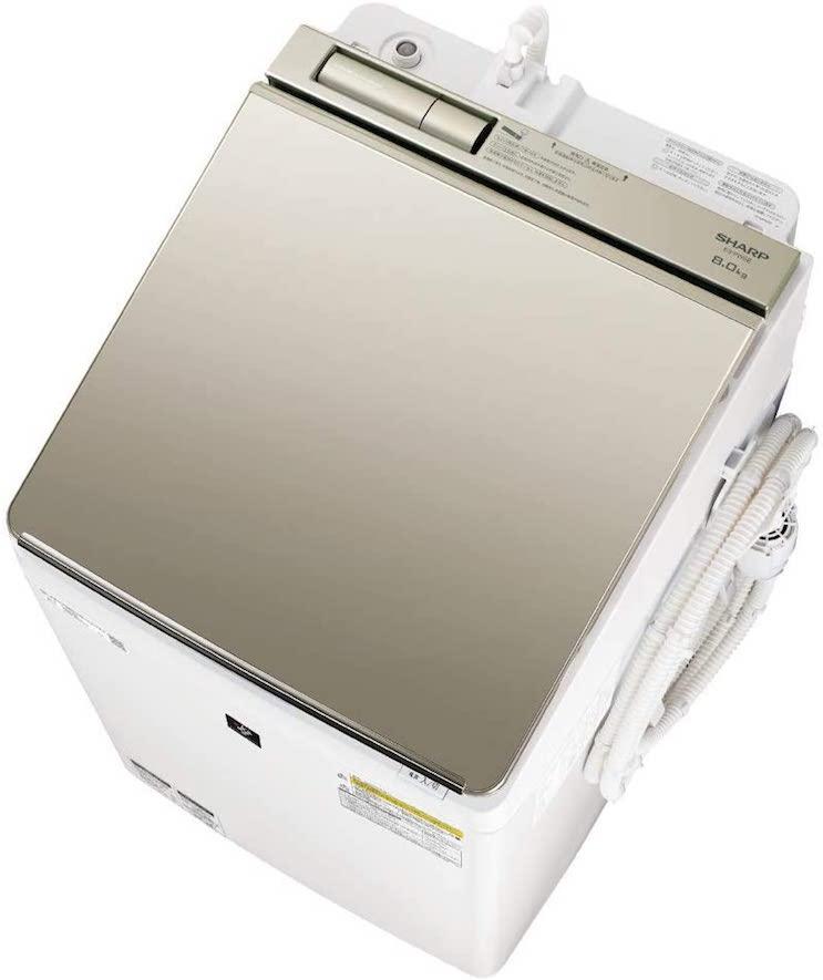 シャープSHARP洗濯機ES-PW8E-N