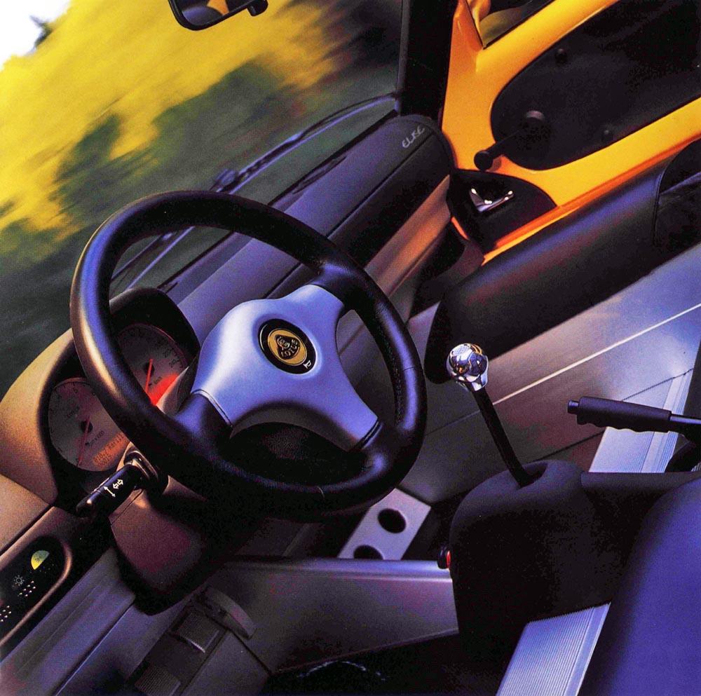 First-Generation Lotus Elise Interior