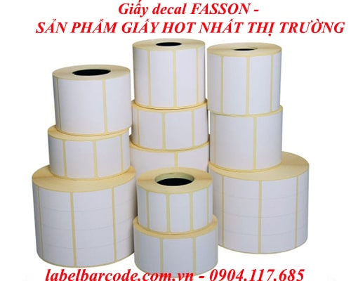 giay decal fasson