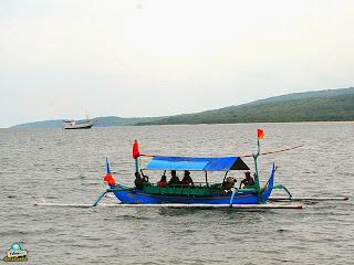 Watu Dodol Beach Boats
