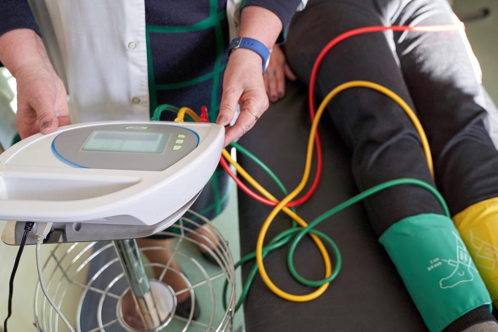 مؤشر الضغط الكاحلي العضدي من ضمن طرق تشخيص تصلب الشرايين