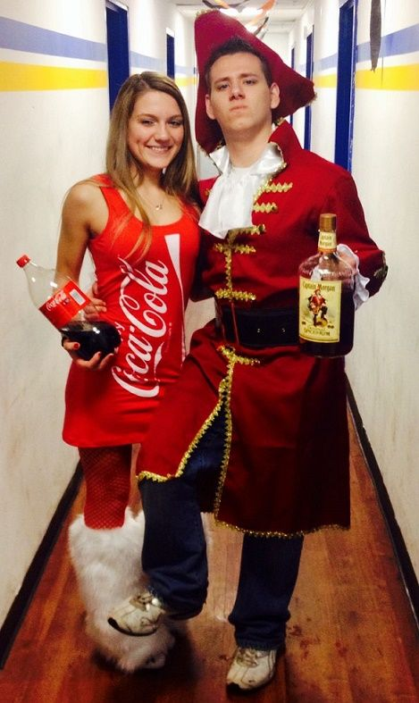rum and coke Halloween costume