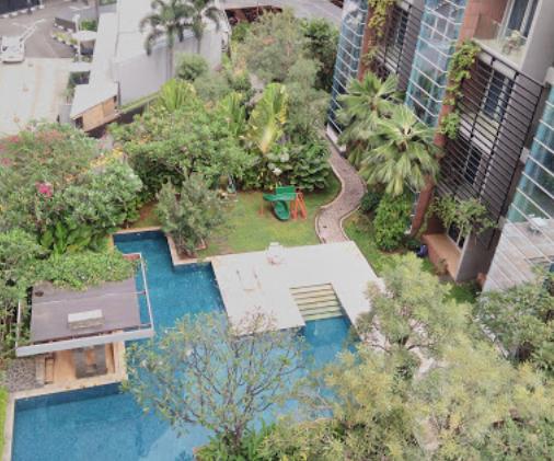 Apartemen Dekat Istana Sahid Daerah Tanah Abang: sudirman residence