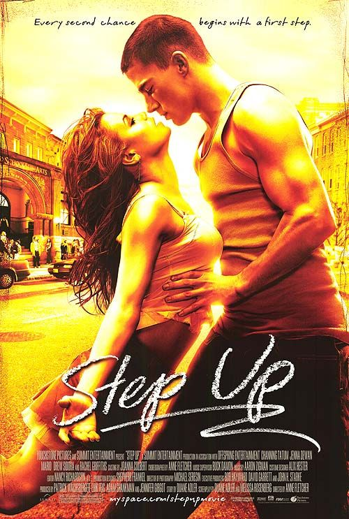 Step Up (2006) a film by Anne Fletcher + MOVIES + Channing Tatum + Jenna Dewan-Tatum + Damaine Radcliff + De'Shawn Washington + Mario  + cinema + Crime + Drama + Music: